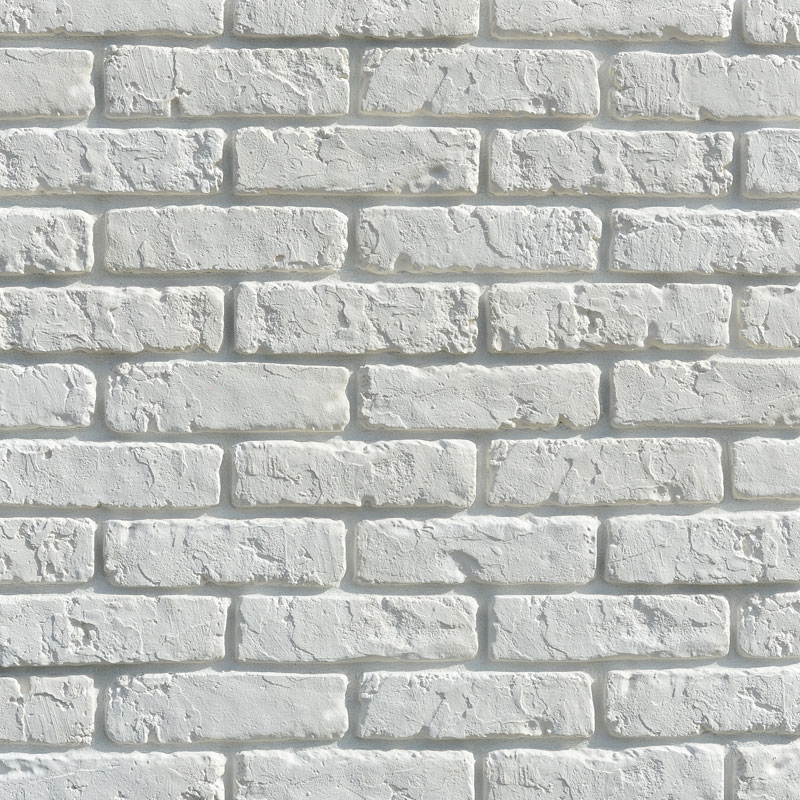 Retro Brick White