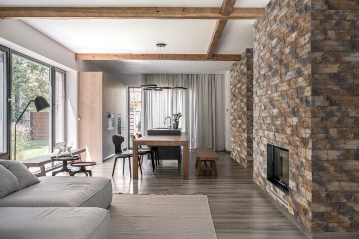 Aranżacja stylowej sypialni Amberia Natural Stone Master