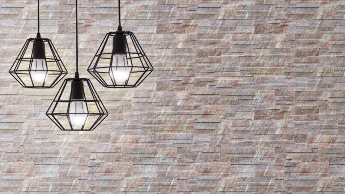LAGOS kamień dekoracyjny z kolekcji SUPREME LINE, produkowany w nowoczesnej i unikalnej technologii z zastosowaniem druku cyfrowego - aranżacja Stone Master